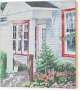 Lavender Lane Occoquan Virginia Wood Print