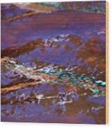 Lavender N Lace Wood Print