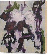 Lavender Series No. 2 Wood Print