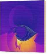 Lavender Sky Wood Print