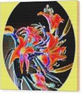 Lavish Lilies 2 Wood Print