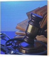 Medical Law Wood Print