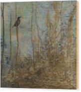 Lawbird Wood Print