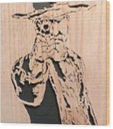 Lawman Wood Print