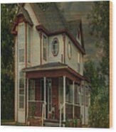 Lawton Home Wood Print
