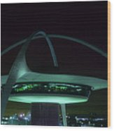Lax Encounter Restaurant Wood Print