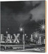 Lax Entry Wood Print