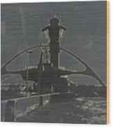Lax Grey Wood Print