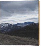 Layered Serenity Wood Print