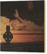 Layered Tomb Wood Print
