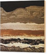 Layers Ll Wood Print by Marsha Heiken