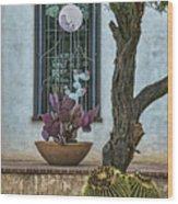 Layers Of Cactus Wood Print