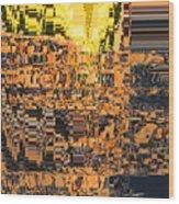 Layers Of Civilizations Wood Print