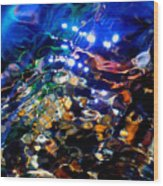 Layers Of Color And Light Wood Print by Terril Heilman