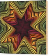 Layers Of Color Wood Print