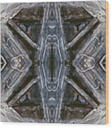 Layers Of Ice #1 - Mount Monadnock Wood Print