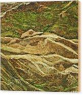 Layers Wood Print
