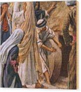 Lazarus, Come Forth Wood Print
