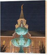 Lds Provo City Center Temple 2 Wood Print