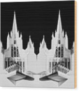 Lds - Twin Towers 1 Wood Print