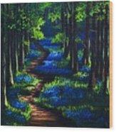 La Belle Heure Wood Print