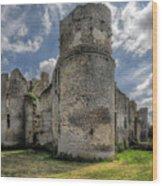 Le Bois Thibault Chateau Wood Print