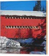 Le Boise Du Pont-rouge ... Wood Print