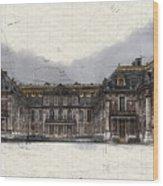 Le Chateau De Versailles Wood Print