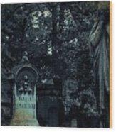 Le Cimetiere Du Pere-lachaise Wood Print