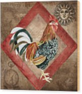 Le Coq - Greet The Day Wood Print