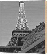 Le Eiffel Wood Print
