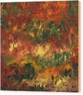 Le Feu Et La Vie 2 Wood Print