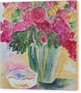 Le Fleur  Wood Print