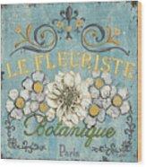 Le Fleuriste De Botanique Wood Print