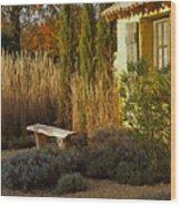 Le Jardin De Vincent Wood Print