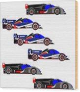 Le Mans 2011 Wood Print