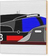 Le Mans 2011 Audi R18 number 3 Wood Print