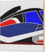 Le Mans 2011 Peugeot 908 number 7 Wood Print