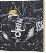 Le Mans Nissan Delta Wood Print