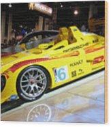 Le Mans Porsche Wood Print by Antique Hero