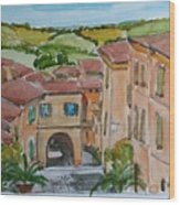 Le Marche, Italy Wood Print