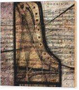Le Pianoforte Variation II Wood Print