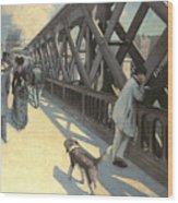Le Pont De L'europe Wood Print