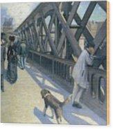 Le Pont De Wood Print