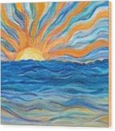 Le Soleil Wood Print