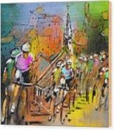 Le Tour De France 04 Wood Print
