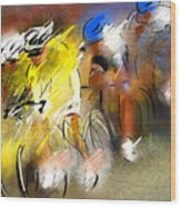 Le Tour De France 05 Wood Print