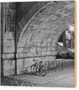 Le Vélo Wood Print