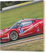Lead Ferrari Wood Print