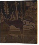 Leading Wood Print